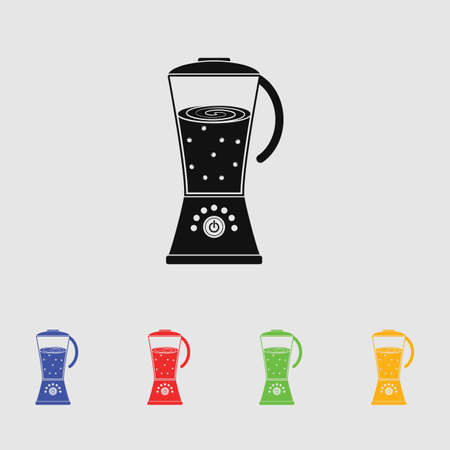 cocktail mixer: blender vector icon