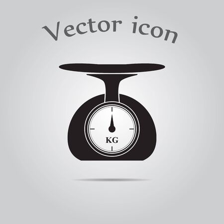 weighing scales: Weighing scales vector icon
