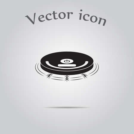 robotic: Robotic vacuum cleaner icon