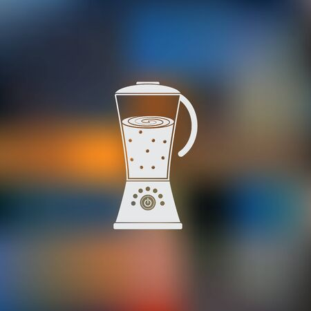 drink tools: blender vector icon