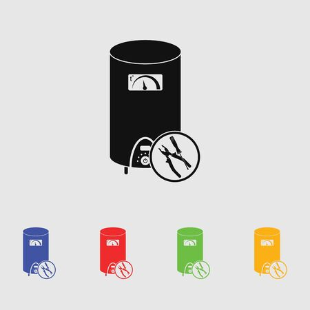 boiler: Repair  boiler vector icon