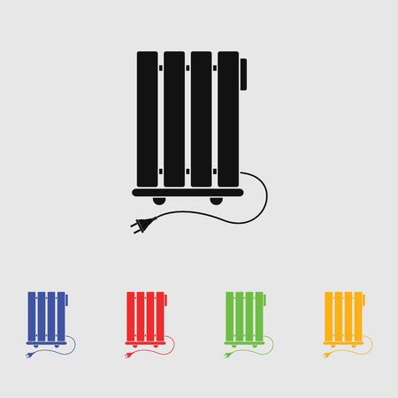 heater: Heater vector icon Illustration