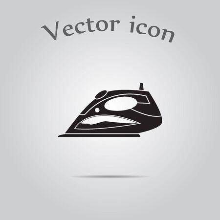 iron: Steam iron icon
