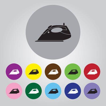 steam iron: Steam iron icon