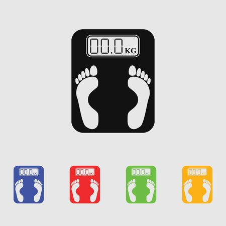 exercise machine: Electronic weighing machine Icon