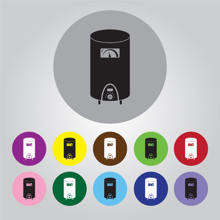 boiler: boiler vector icon