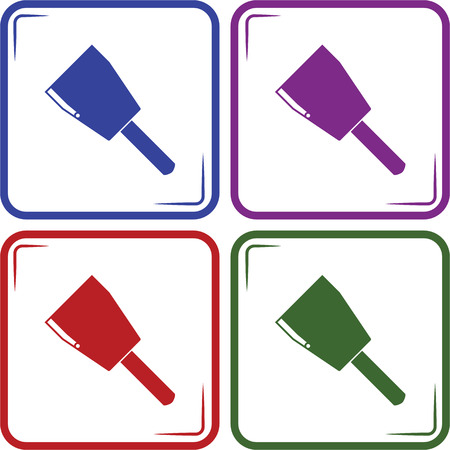 lug: Copper cable lug vector icon