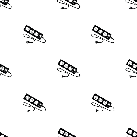 cord: extension cord vector icon Illustration