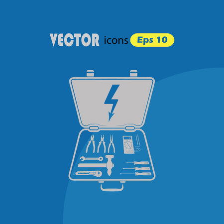 tooling: Electrical Toolbox vector icon.