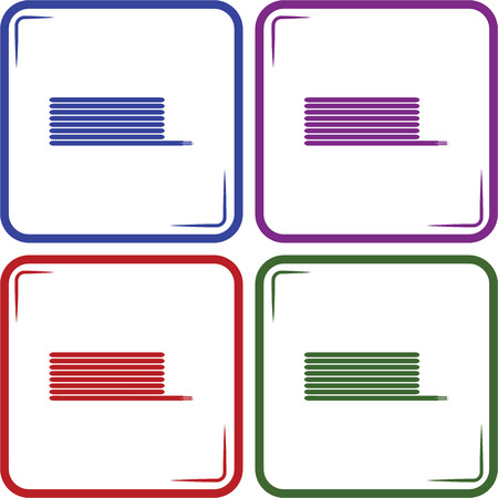 coil: coil cable vector icon