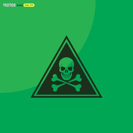 danger  high voltage: danger high voltage vector icon