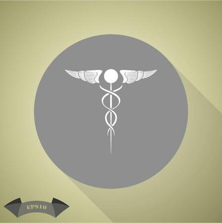 scepter: Medical symbol icon
