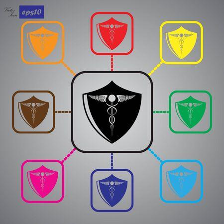 medical illustration: medical graphic design , vector illustration Illustration
