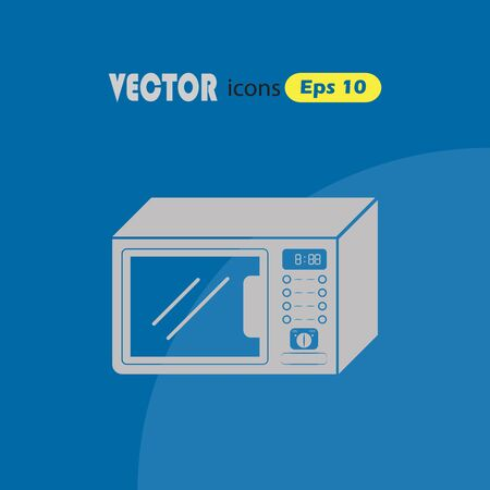 microwave: Microwave Icon Vector Illustration