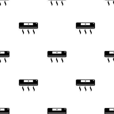 Air conditioner icon Illustration