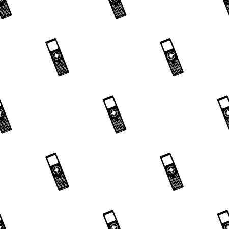 phone: Phone simple vector icon Illustration