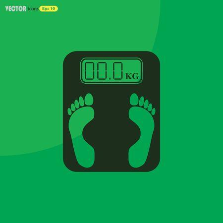 weighing: Electronic weighing machine Icon