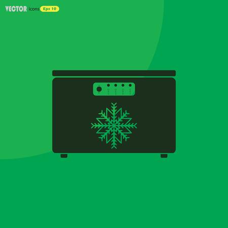 Freezer vector icon
