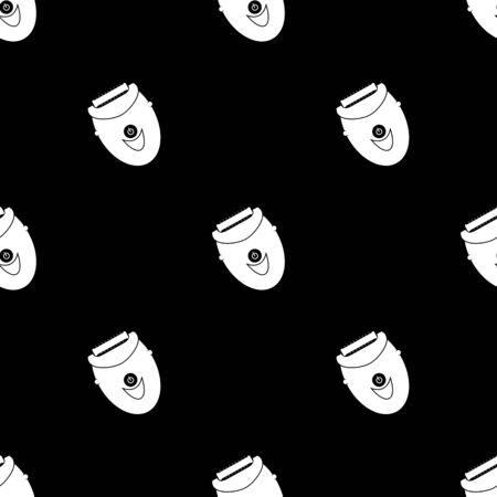 underarms: Women epilator icon Illustration