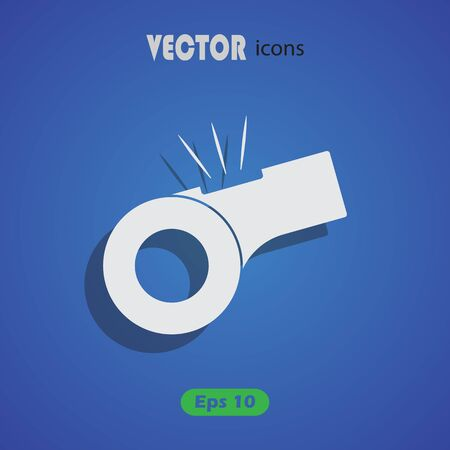 whistle: Whistle vector Icon