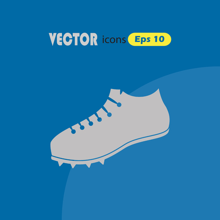 running shoe: Running shoe vector icon Illustration