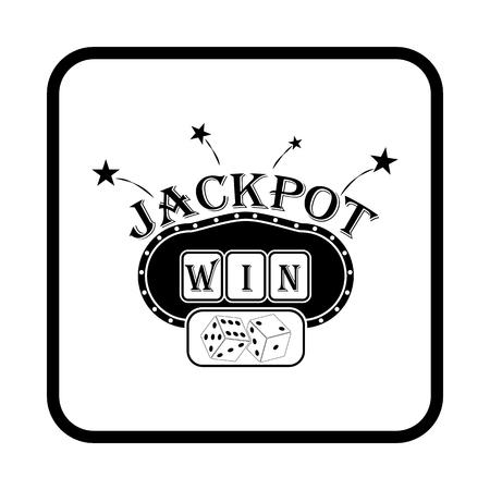 slot: Slot machine vector icon Illustration