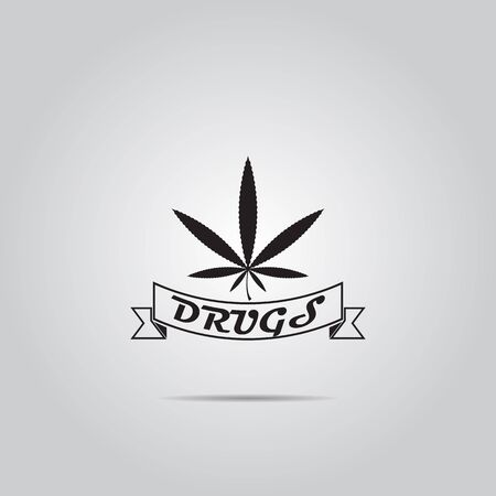 legalize: marijuana leaf vector icon
