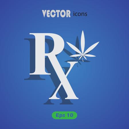 hashish: Medicinal Marijuana vector icon Illustration