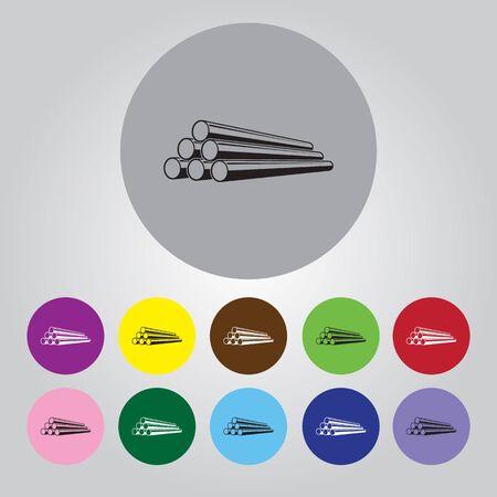 Tuyau icône vecteur pour le web et mobiles Vecteurs