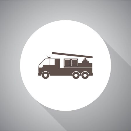 fire engine: fire engine vector icon