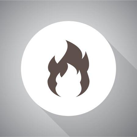 Fire Icon Vector.