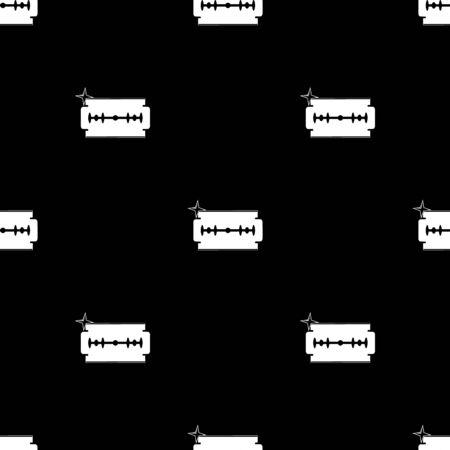 blade: Razor blade vector icon