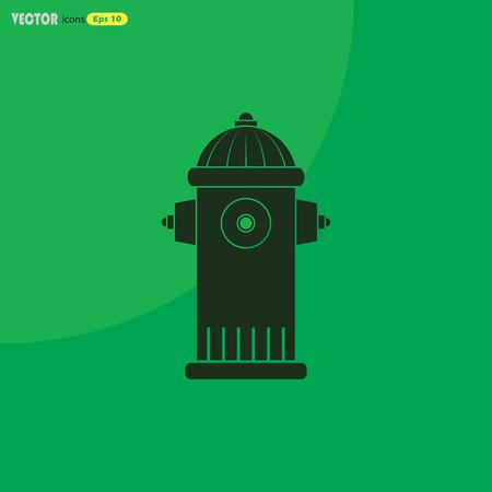 fire plug: Fire hydrant symbol Illustration