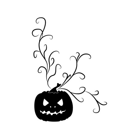 Pumpkin Icon. Halloween symbol. For web and mobile