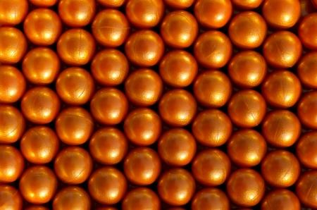 Paintballs background Stock Photo