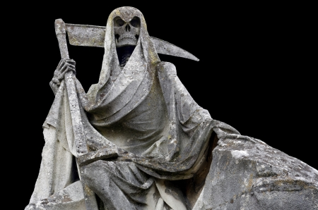 Grim reaper. Death personified   photo