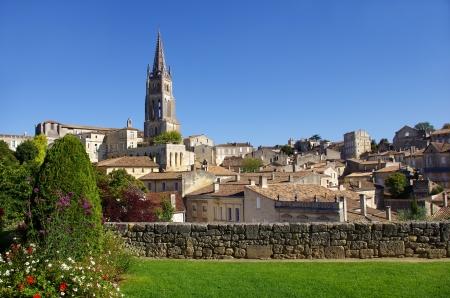 Large view on Saint Emilion