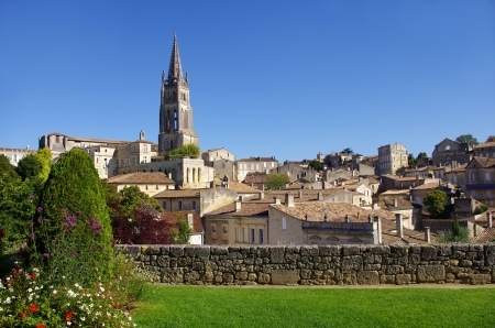 gironde: Large view on Saint Emilion