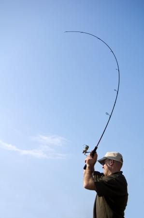 魚のキャッチ釣り、