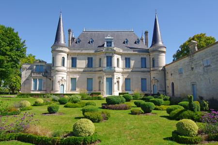 Chateau palmer is a famous wine estate of Bordeaux vine. Margaux wineyard