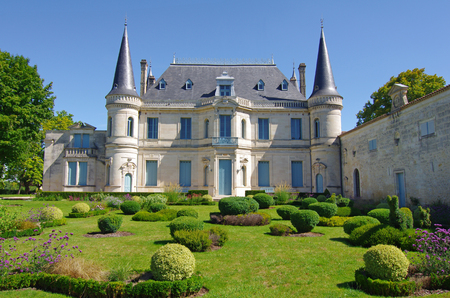 Chateau palmer is a famous wine estate of Bordeaux vine. Margaux wineyard