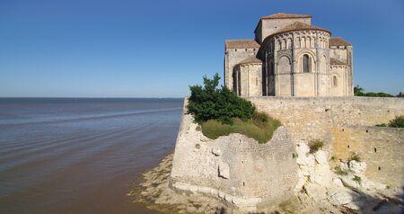 Sainte Radegonde church in the south west of France.