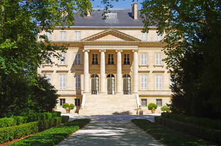 Chateau margaux is a famous wine estate of Bordeaux wine Redakční