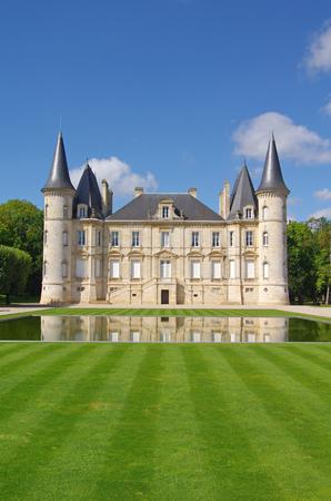 French wine castle. Chateau Pichon Longueville 報道画像
