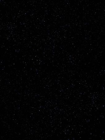 Starry night sky. Deep sky with stars as background