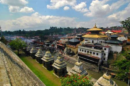 Pashupatinath in Kathmandu, Nepal photo