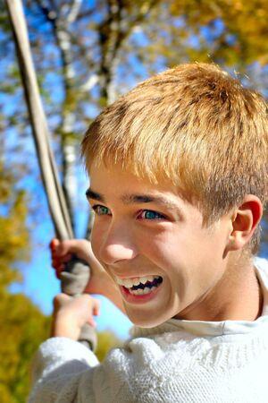 brich: happy teenager