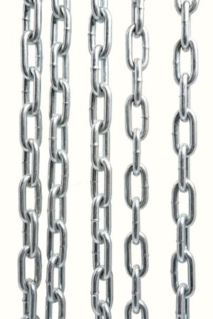 Chain isolated photo