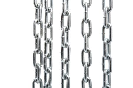 Chain isolated on the white background Stock Photo - 5731007