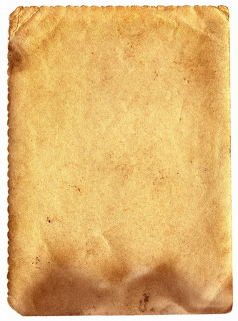 old dirty paper with space for text Stock Photo - 9380064